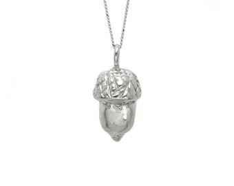 Acorn Necklace 3D