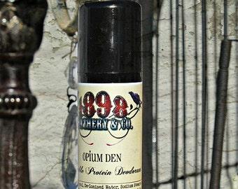 W I D O W S • P E A K   Vegetable Protein Deodorant • Alluminum Free • Sample