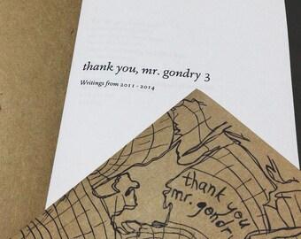 thank you, mr gondry zine