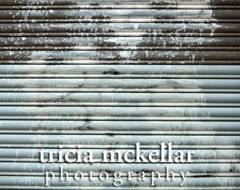 Abstract Art, Oversized Modern Large Print, 30x45, Blue, Gray, Urban, Fine Art Photography Print by Tricia McKellar (Abstract No. 0561)