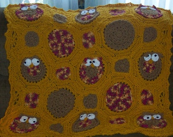 Made to Order Owl Obsession Blanket