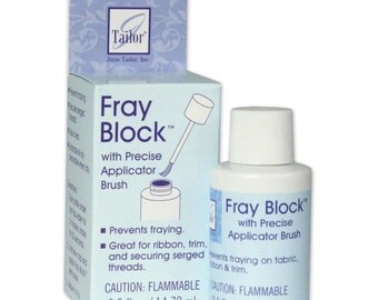 Fray Block by June Tailor with Applicator Brush -- .5 oz