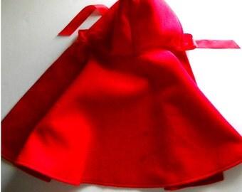 RED RIDING HOOD costume, Size 2 - 5.    Custom made.