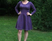 The Lady Skater Dress sewing pattern for teens and women (PDF)