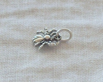 Sterling Silver Spider Charm