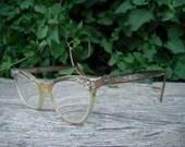 1960s Vintage Aluminum Eyeglasses/Frames