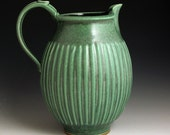 Green Lines 2 Quart Pitcher FREE SHIPPING
