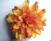 CHRYSANTHEMUM , Silk Flower, Fall Yellow   /  CH - 01