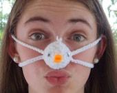 Nose Warmer - Little Baby Duck,  Man, Woman, Outdoors Nose Cozy, Gag Gift, Easter, Teen, Tween
