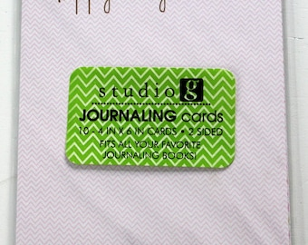 Sutdio G Journaling Tags - Scrapbook Embellishments