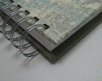 Sermon Notebook/ Church Notebook/ Sermon Journal/ Bible Notebook/ Bible Journal/ Sermon Notes/ Journal/ Christian Gift/ Distress Damask