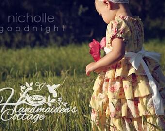 The Handmaiden's Cottage Petticoat PDF Pattern, sizes 6 months through size 8