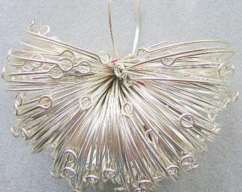 Earring, STERLING, 25mm, Wine Glass, Earwire, LOOP, Round, Findings, earwire,Wine Glass,Charm, Silver
