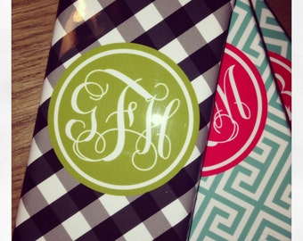 Personalized Gingham iphone case