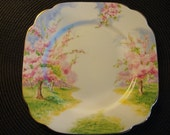 """SALE....SEVEN 7"""" Prince Albert Blossom Time china plates for ONE price- England"""