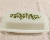 Pyrex  Spring Blossom Crazy Daisy Butter Dish