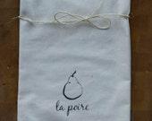la Poire Flour Sack Towel