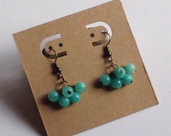 Blue Quartzite Earrings