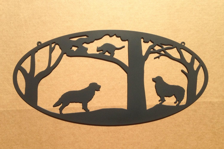 Recycled Metal Custom Dog Wall Art By Rainyrootsstudio On Etsy