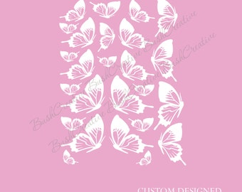 Butterfly Wall Decals 058