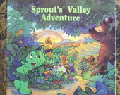 Vintage 1992 Sprout's Valley Adventure Book