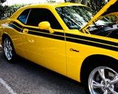 Yellow Dodge Challenger RT Fine Art Print- Photography, Car Art, Antique Car, Home Decor, Nursery Decor, Wall Art, Vintage Car, Automobile
