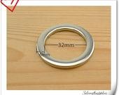 1.25 inch (inner size) alloying rings 10pcs Nickel U82