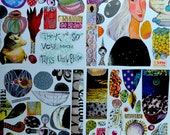 Collage Sheets - set H