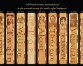 One Laser Engraved Bookmark - Choose from 9 famous authors