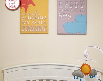 Custom Baby Nursery Artwork - Digital File