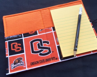 Mini List Taker, Organizer, Coupon Holder, Oregon State University, Notepad And Pen/Pencil Included