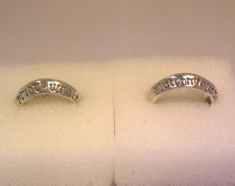 7 Deadly Sins Ring - Large Sizes
