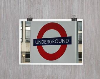 London Underground - 4 x 6 photograph
