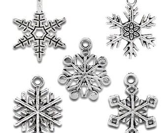 Snowflake Mix - Set of 10 - #S128