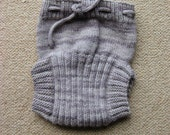 Wool Soaker / Diaper / Nappy Cover. Pure Hand Dyed Merino Wool - Large
