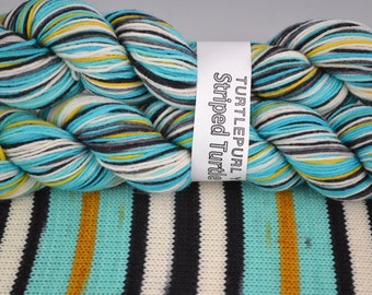 Dream Room - Hand-dyed Self-striping sock yarn