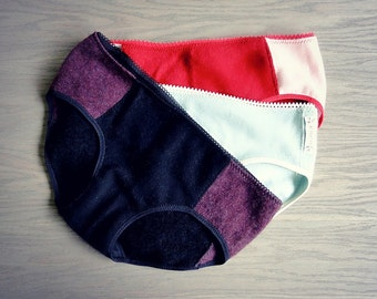 Cashmere hipsters panties - pack of 3