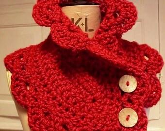 Crochet Cowl Pattern, Ladies Crochet Pattern  - Instant Download Pattern PDF