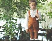 PREORDER - Vinty Original Design by Peepz n Pretzelz, Girls Vintage Inspired, Girls Shorts, Short alls, Corduroy Shorts, HANDMADE USA