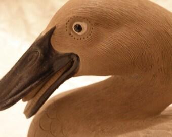 Ceramic  Sitting Duck Made in China Wonderful Detail