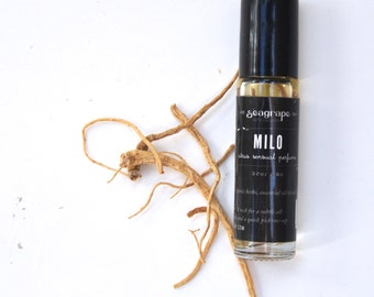 Milo- Sensual Citrus and Vetiver... all natural roll-on essential oil perfume