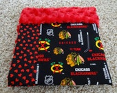 Reserved Listing.....NHL Chicago Blackhawks Rally Blanket / Security Blanket Lovey
