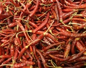 1/2 Ounce Chile de Arbol - Wicca Pagan Herbs Botanica .5oz - Curse Breaking and Lust Spells