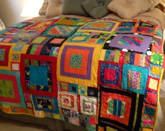 String Quilt double bed size