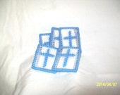 Cross in my Pocket, Set of 5 in Soft Blue