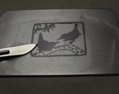 Diamond Sharpening Card for small knives and scalpel blades