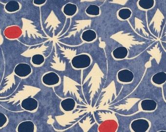 1956 Vintage Japanese Handcrafted Silkscreen Print. Sheet 13