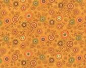 Orange Flower Hello Fall Fabric - Moda - Sandy Gervais - 17783 14