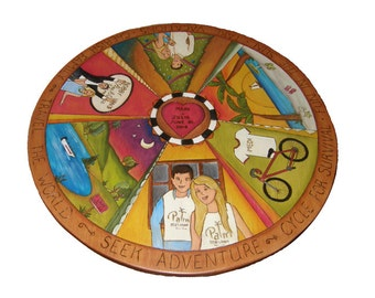 Lazy Susan/ centerpiece/ Wedding gift/Anniversary gift/ wedding table/  Made To Order