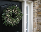 Wreaths, Merry Christmas Wreaths, Holiday Wreath - Baby It's Cold Outside Wreath a Holiday Decor Wreath